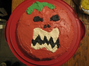 ...and the vastly superior killer tomato cake.